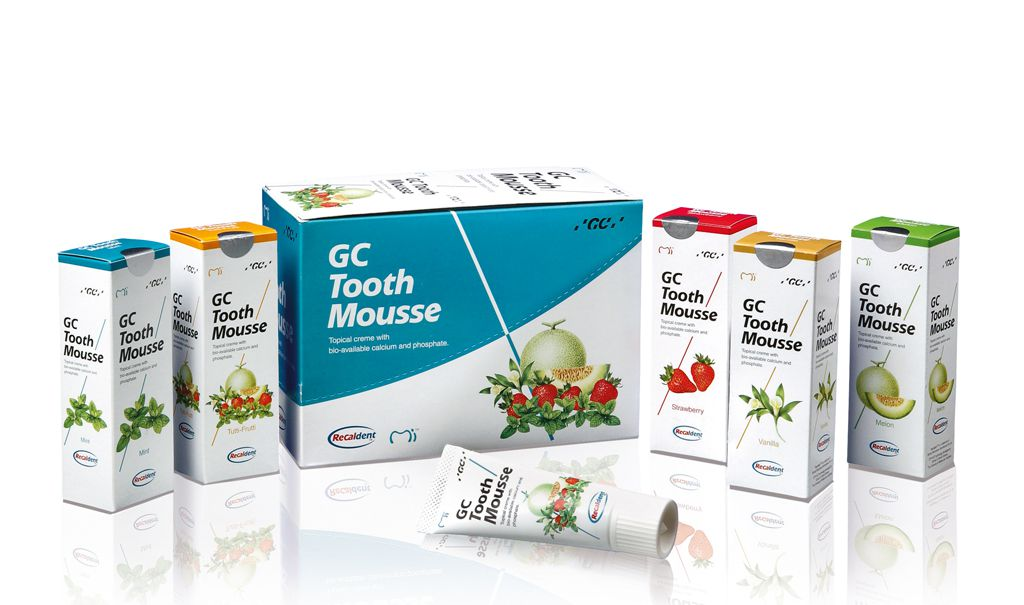 GC TOOTH MOUSSE - ТУС МУСС - ГЕЛЬ - ВАНИЛЬ